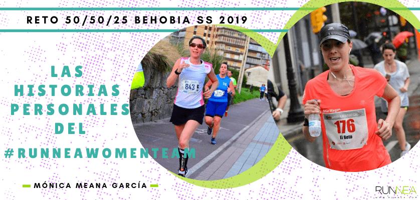 Historias runners de las 50 corredoras del Runnea Women Team - Mónica Meana García