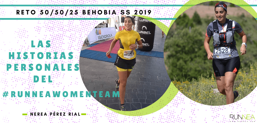Historias runners de las 50 corredoras del Runnea Women Team - Nerea Pérez Rial