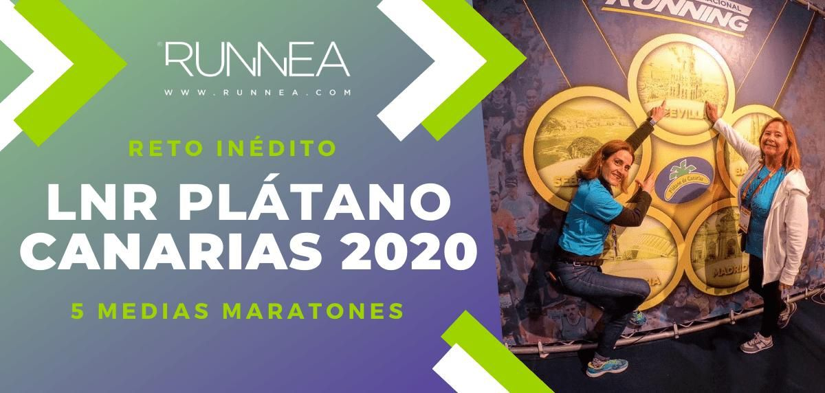 Llega el Circuito Nacional Running Plátano de Canarias 2020 para correr las medias maratones más representativas de España