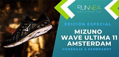 Edición especial Mizuno Wave Ultima 11 Amsterdam, y si...¿Rembrandt hubiese sido runner?