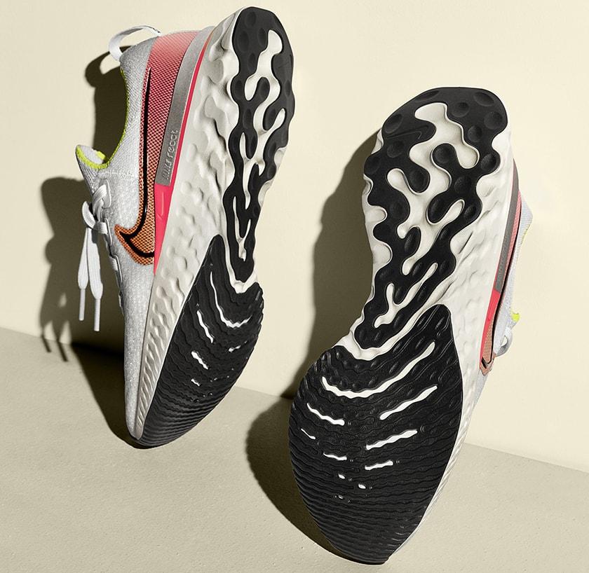 Nike React Infinity Run, suela