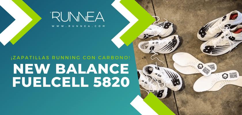 Las 6 zapatillas de running con placa de carbono más destacadas - New Balance FuelCell 5820