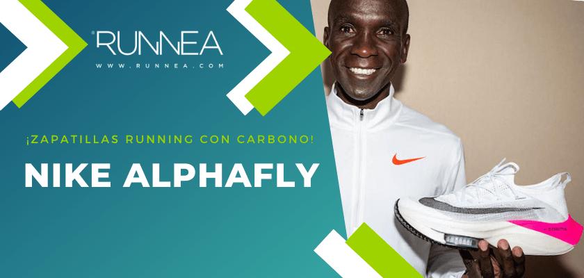 Las 6 zapatillas de running con placa de carbono más destacadas - Nike AlphaFly