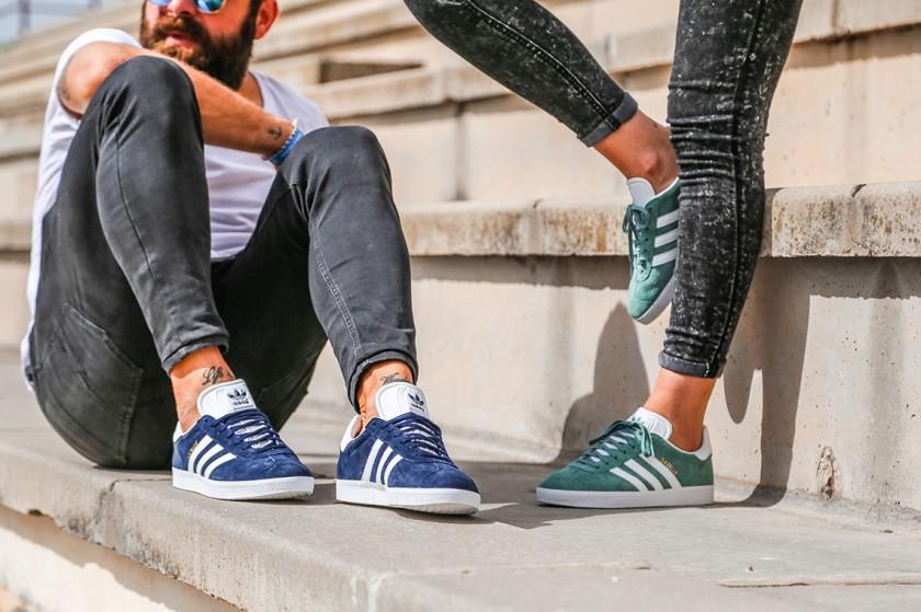 Adidas Gazelle cumplen 50 años, legado