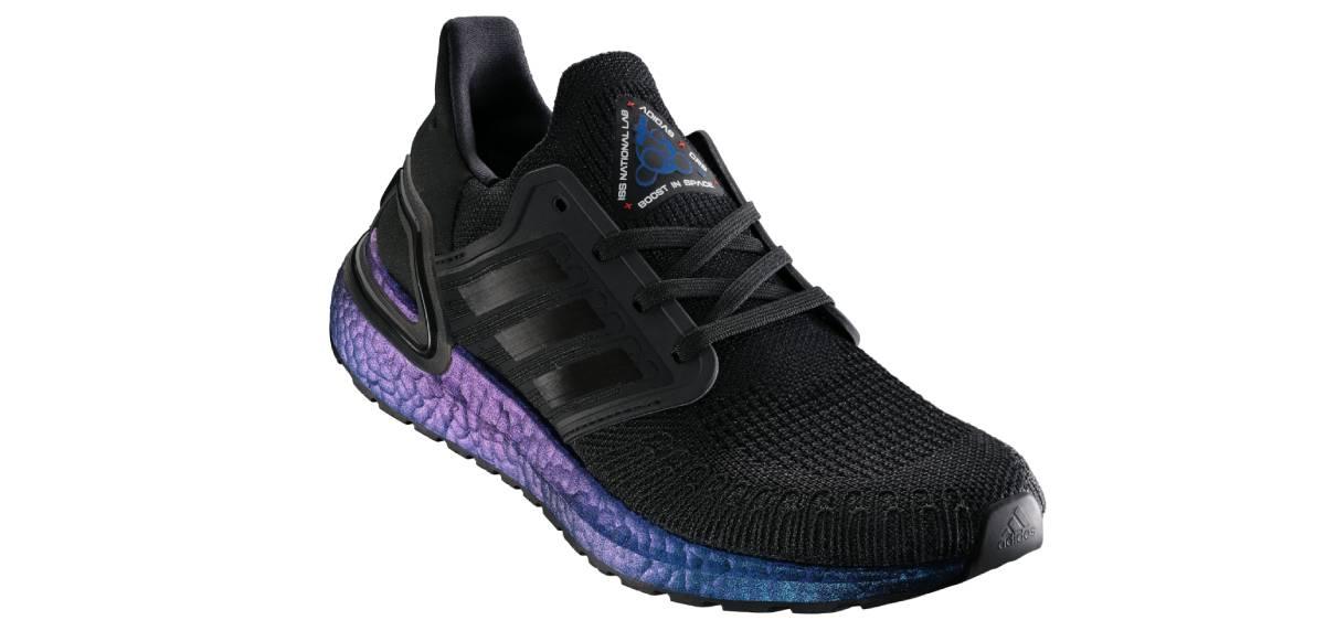 Adidas Ultraboost 2020, mediasuela boost violeta