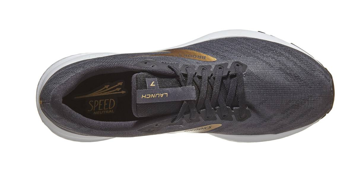 Brooks Launch 7, upper
