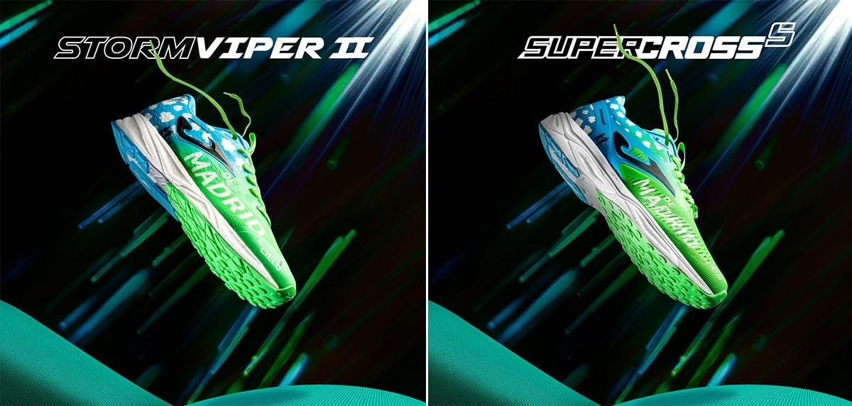Joma Super Cross y Storm Viper, oferta especial para runners del Medio Maratón Madrid 2020 - foto 1
