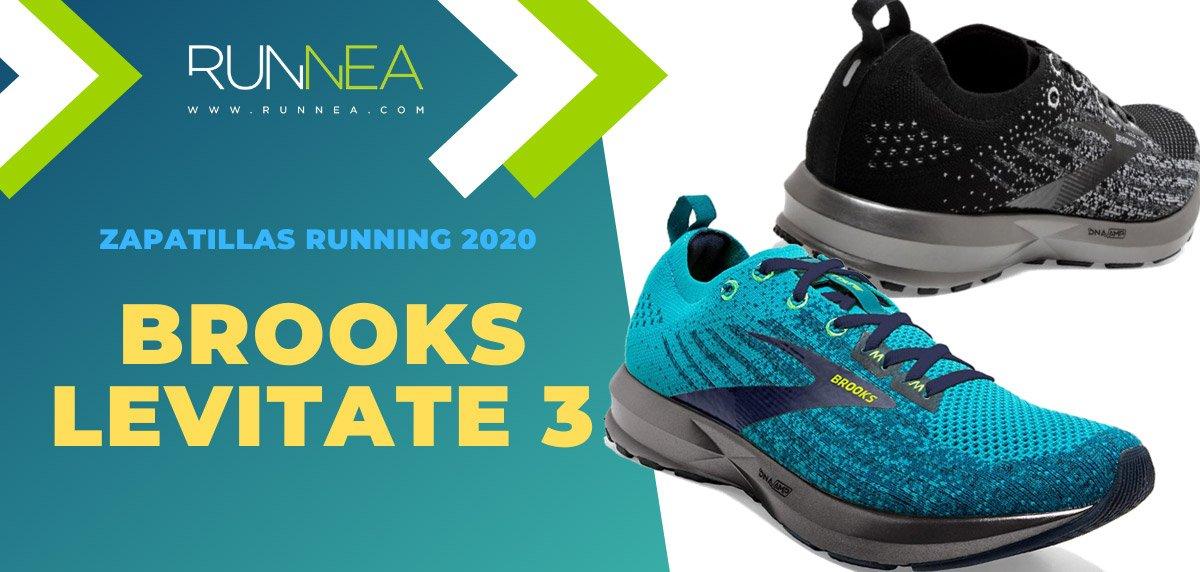 Las mejores zapatillas de running 2020 - Brooks Levitate 3