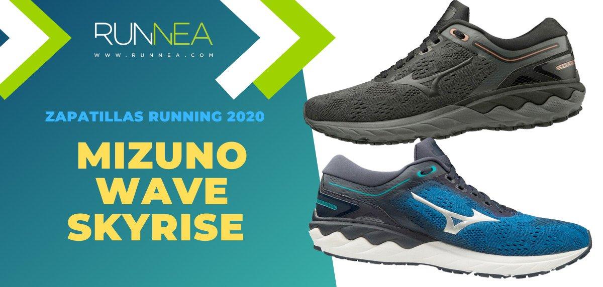 Mejores zapatillas de running 2020 - Mizuno Wave Skyrise
