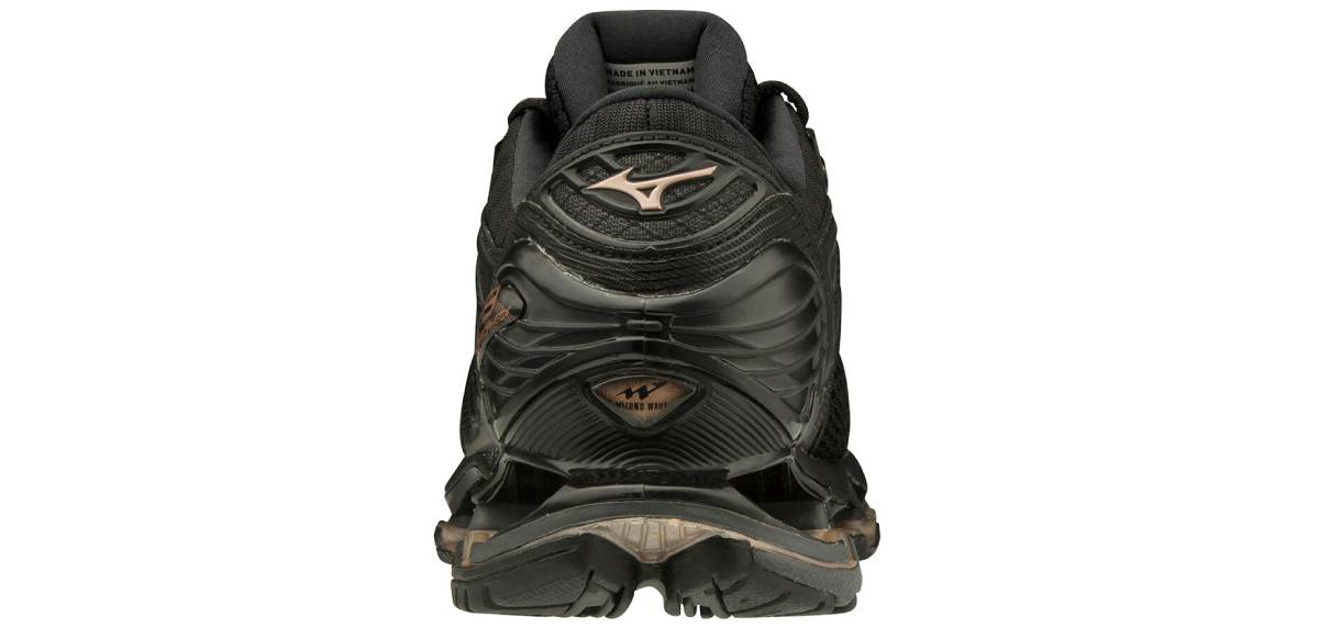 Mizuno Wave Prophecy 9, talón