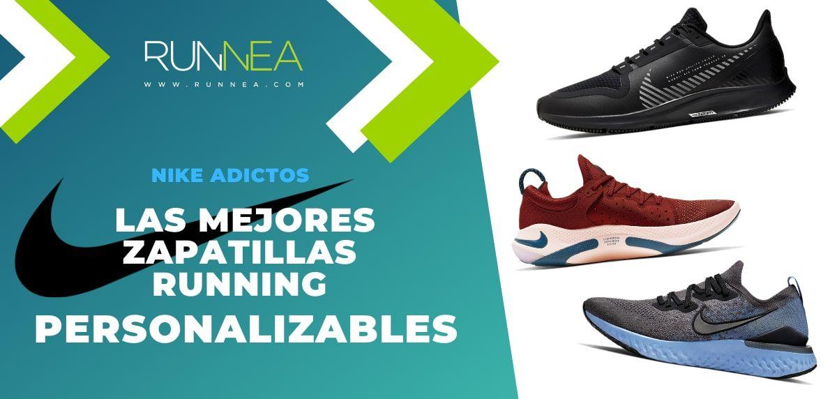 Mucama Variedad Del Norte  Las mejores zapatillas de running Nike personalizables