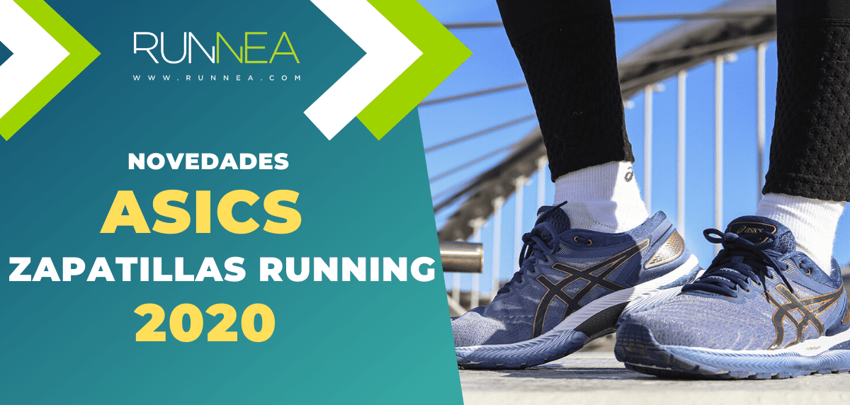 Novedades en zapatillas de running ASICS 2020