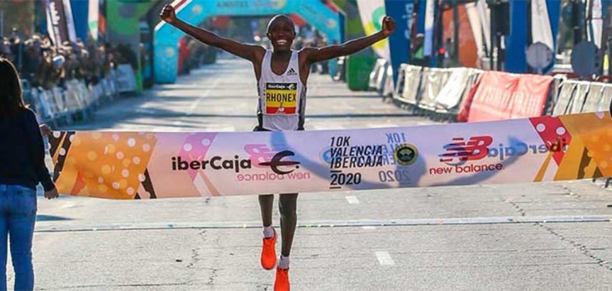 Clasificaciones 10K Valencia Ibercaja 2020: ¡Rhonex Kipruto, nuevo récord del mundo con un crono de 26:24!