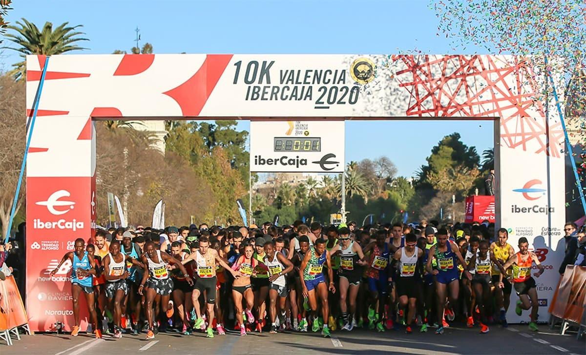 10K Valencia Ibercaja 2020, Rhonex Kipruto (26:24), nuevo récord del mundo en 10k