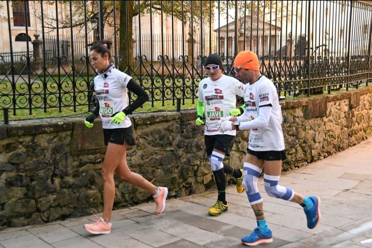 ¿Cómo se prepara una maratón tan particular en un espacio tan reducido? - foto 2