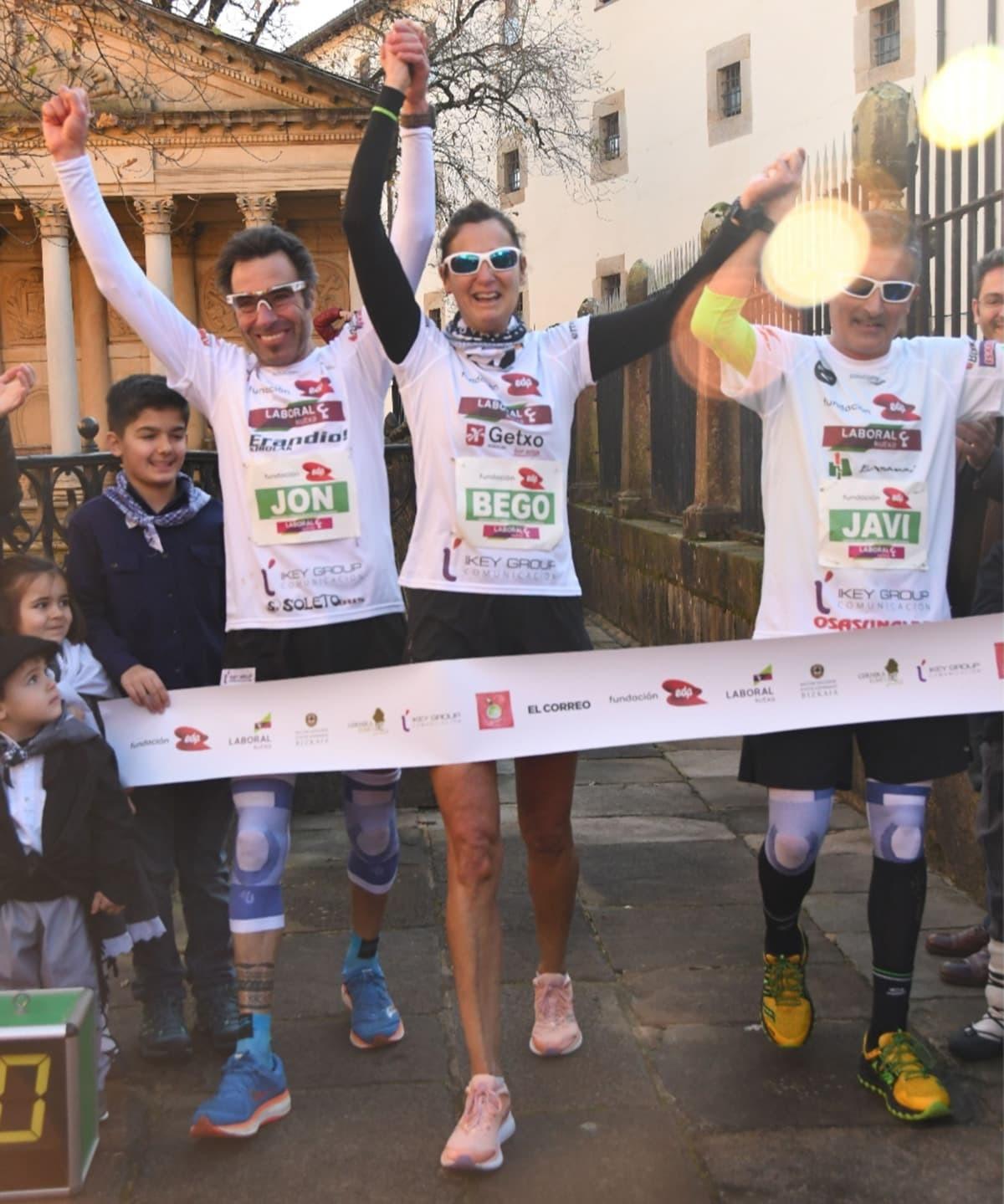 Maratones Solidarios, balance positivo en Gernika - foto 4