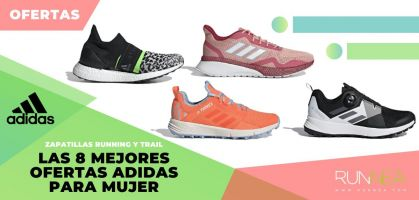 Las 8 mejores ofertas running y trail de Adidas para mujer