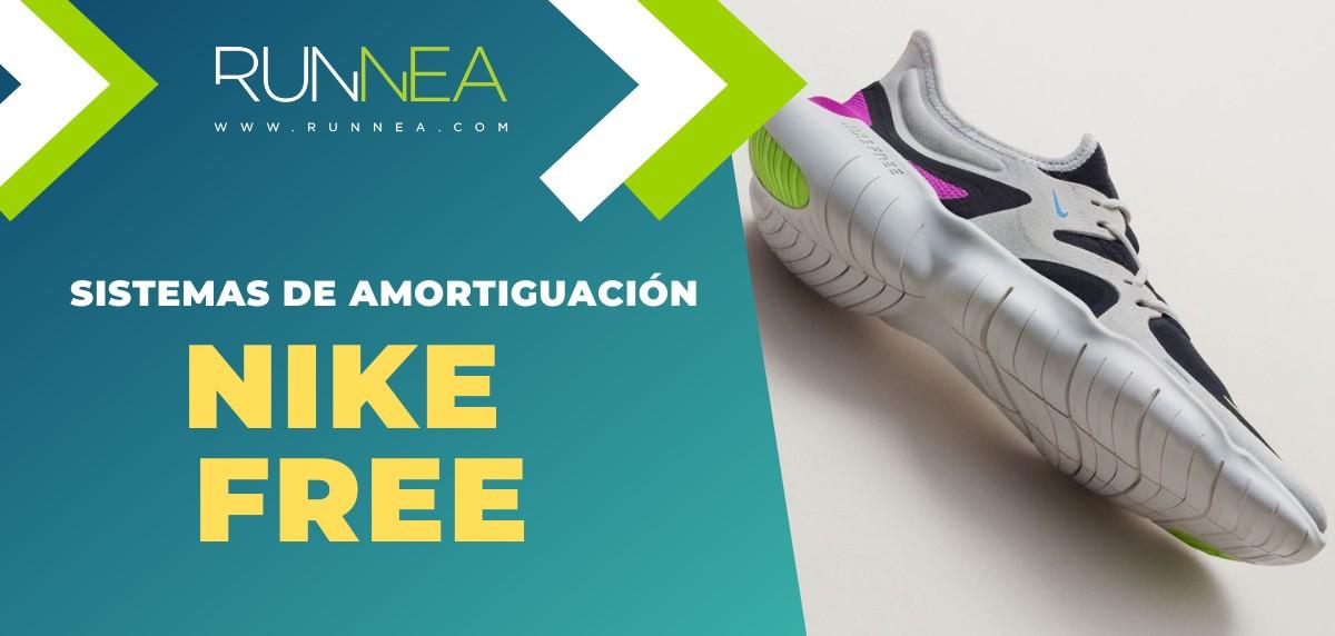 Tecnologías de amortiguación Nike y sus zapatillas de running recomendadas - Nike Free