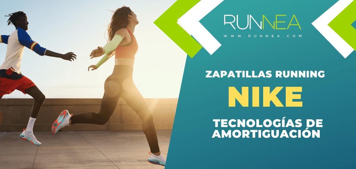 Las 5 sistemas de amortiguación Nike más punteros en zapatillas de running