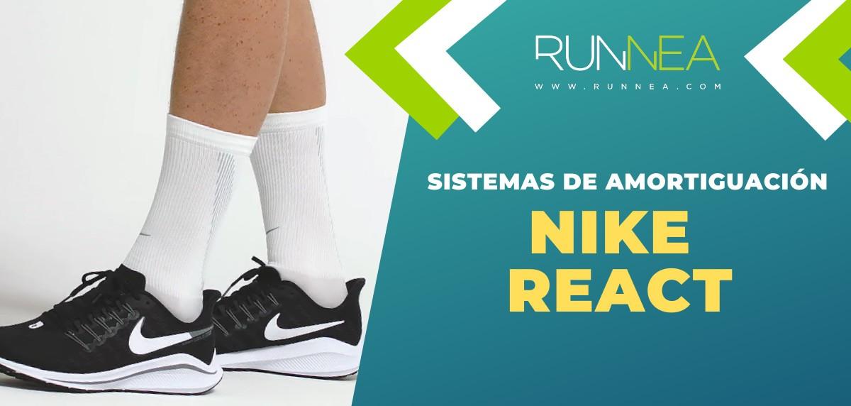 Tecnologías de amortiguación Nike y sus zapatillas de running recomendadas - Nike React