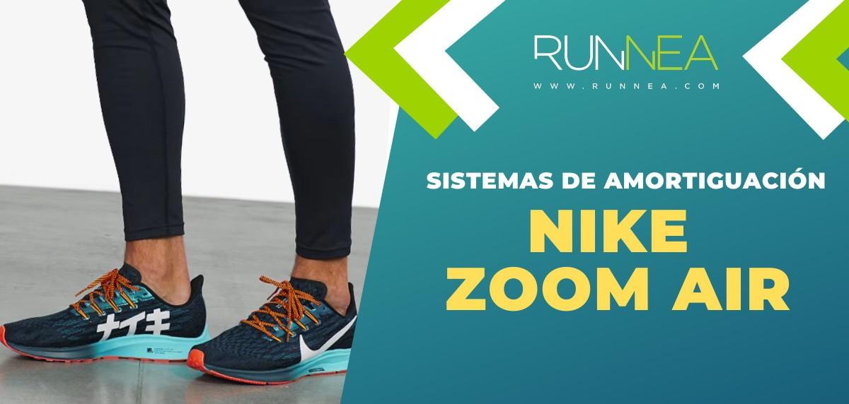 Tecnologías de amortiguación Nike y sus zapatillas de running recomendadas - Nike Zoom Air