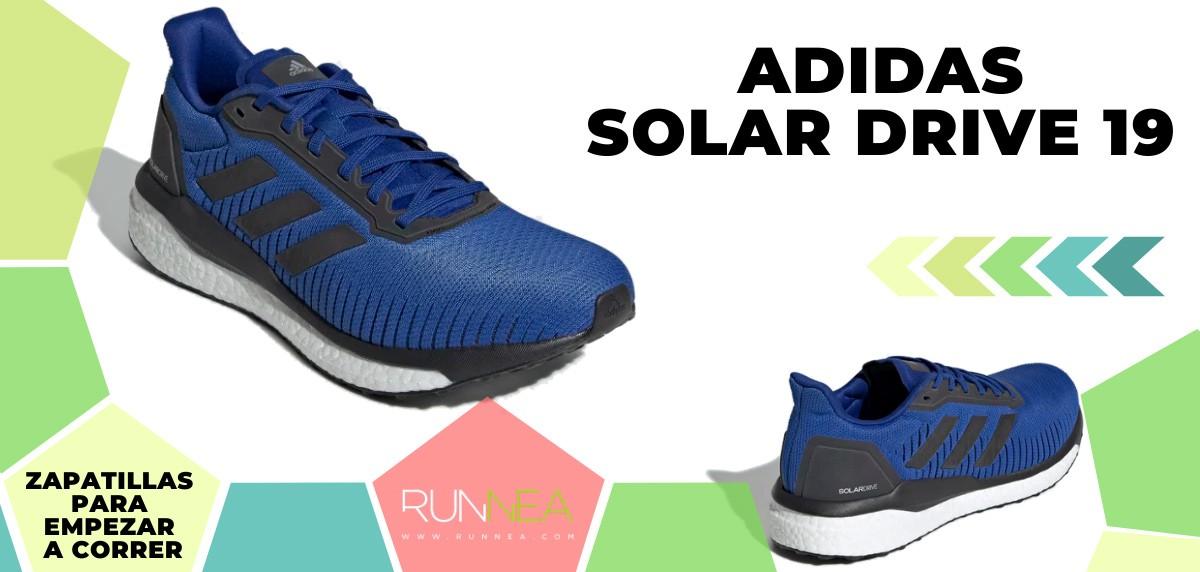 Mejores zapatillas de running para empezar a correr - adidas Solar Drive 19