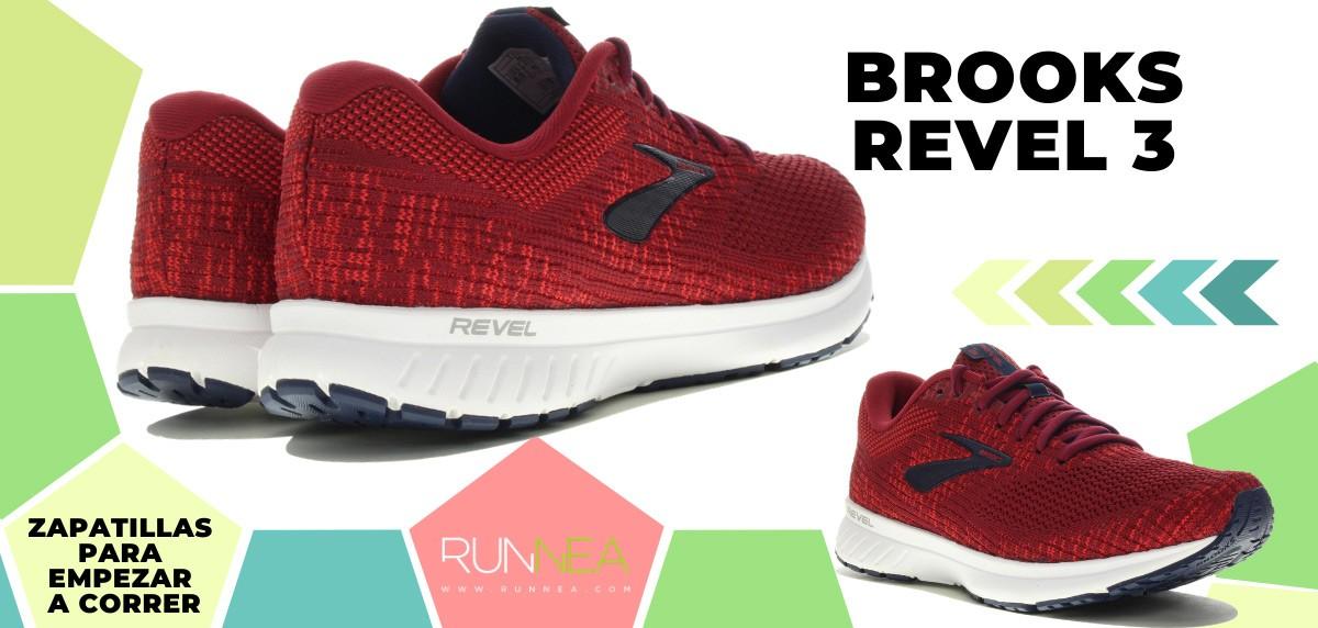 Mejores zapatillas de running para empezar a correr - Brooks Revel 3