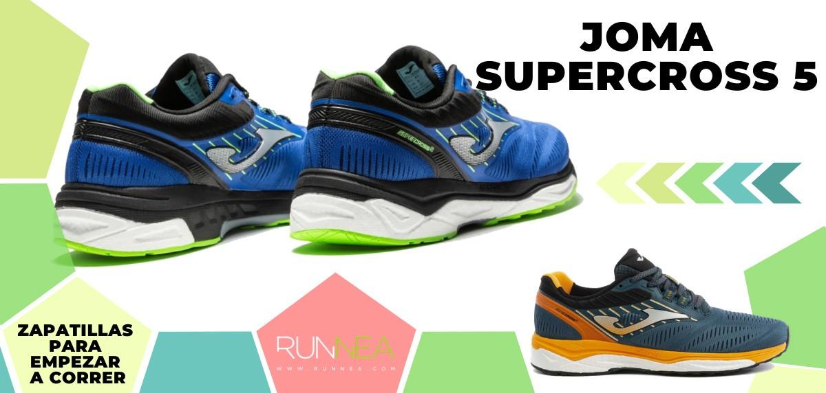 Mejores zapatillas de running para empezar a correr - Joma Supercross 5