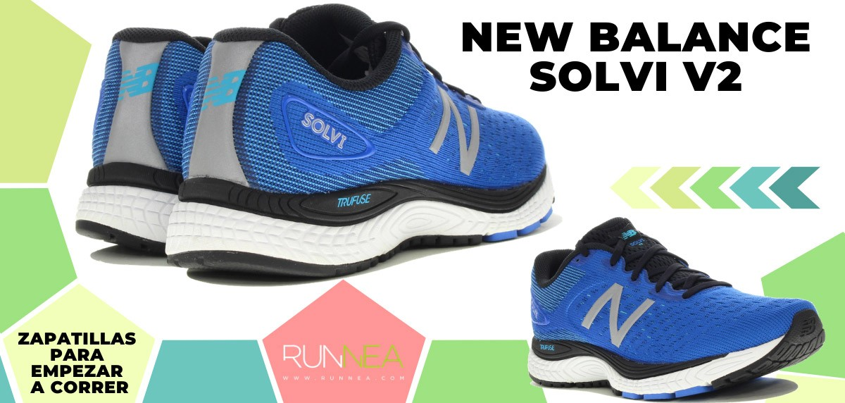 Mejores zapatillas de running para empezar a correr - New Balance Solvi v2
