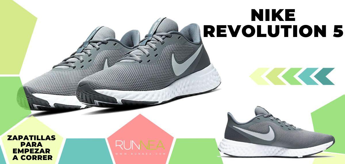 Mejores zapatillas de running para empezar a correr - Nike Revolution 5