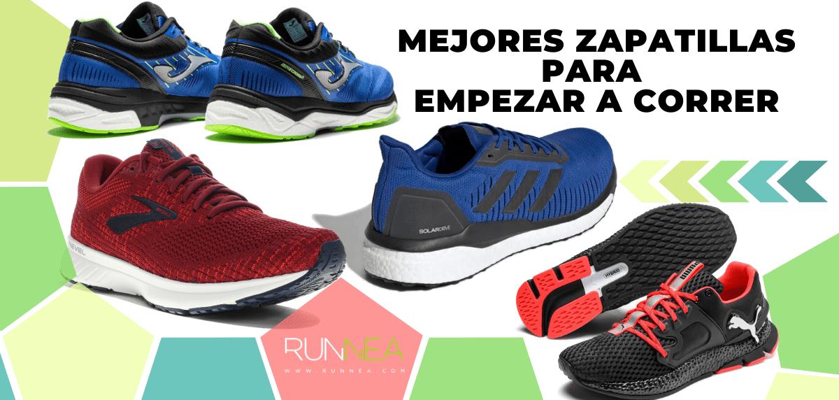 Mejores zapatillas de running para empezar a correr