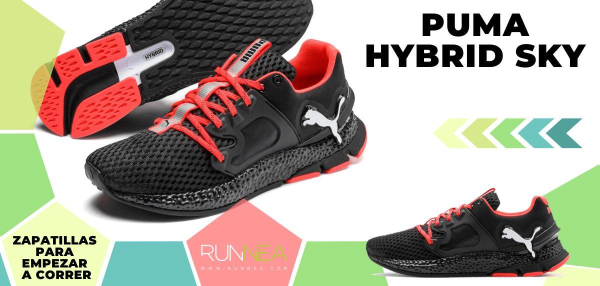 Mejores zapatillas de running para empezar a correr - Puma Hybrid Sky