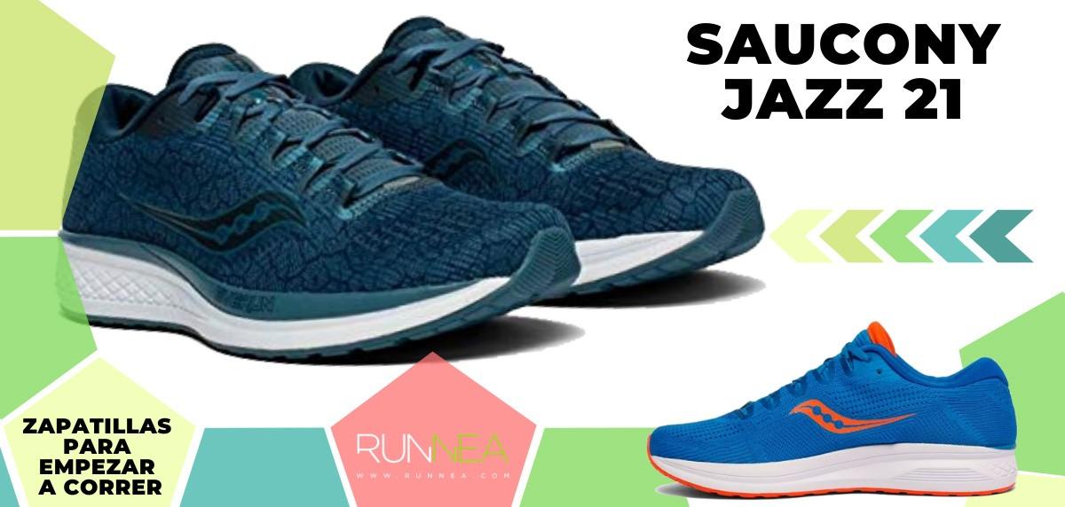 Mejores zapatillas de running para empezar a correr - Saucony Jazz 21