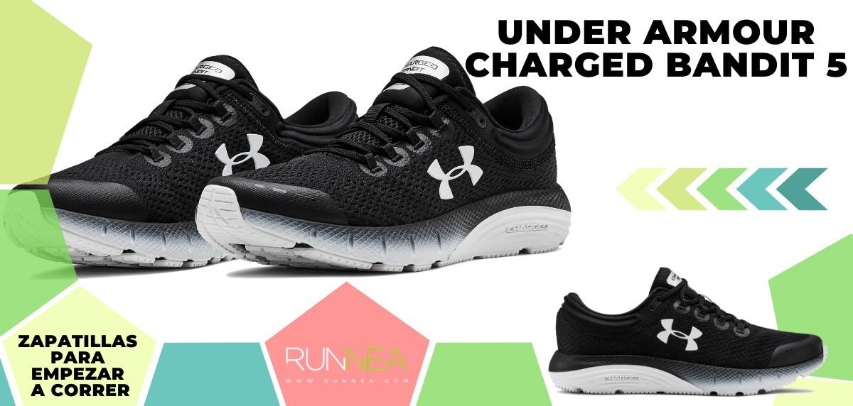 Mejores zapatillas de running para empezar a correr - Under Armour Charged Bandit 5