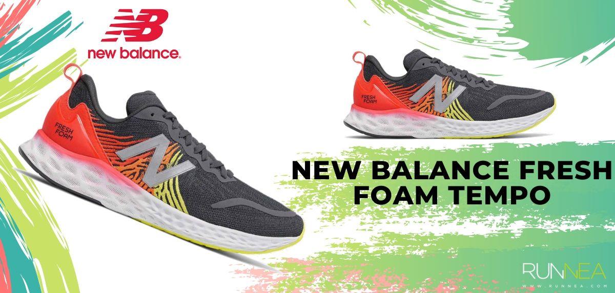 Mejores zapatillas running New Balance 2020, New Balance Fresh Foam Tempo