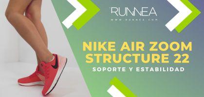 Nike Air Zoom Structure 22, una remodelación de calidad