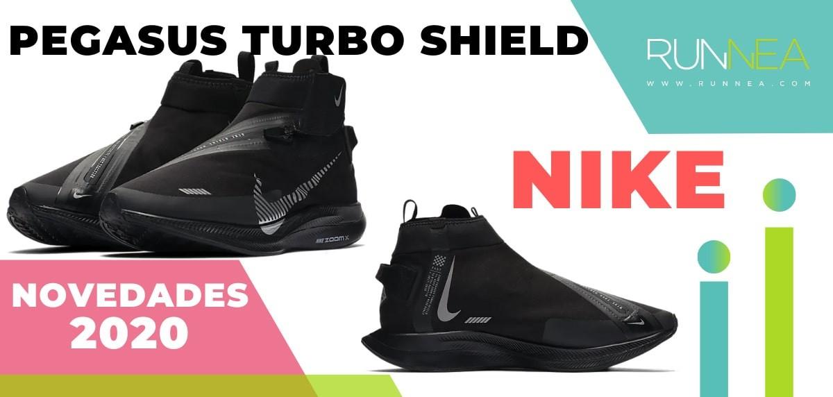 Últimas novedades de zapatillas de running Nike que están ya a la venta - Nike Pegasus Turbo Shield