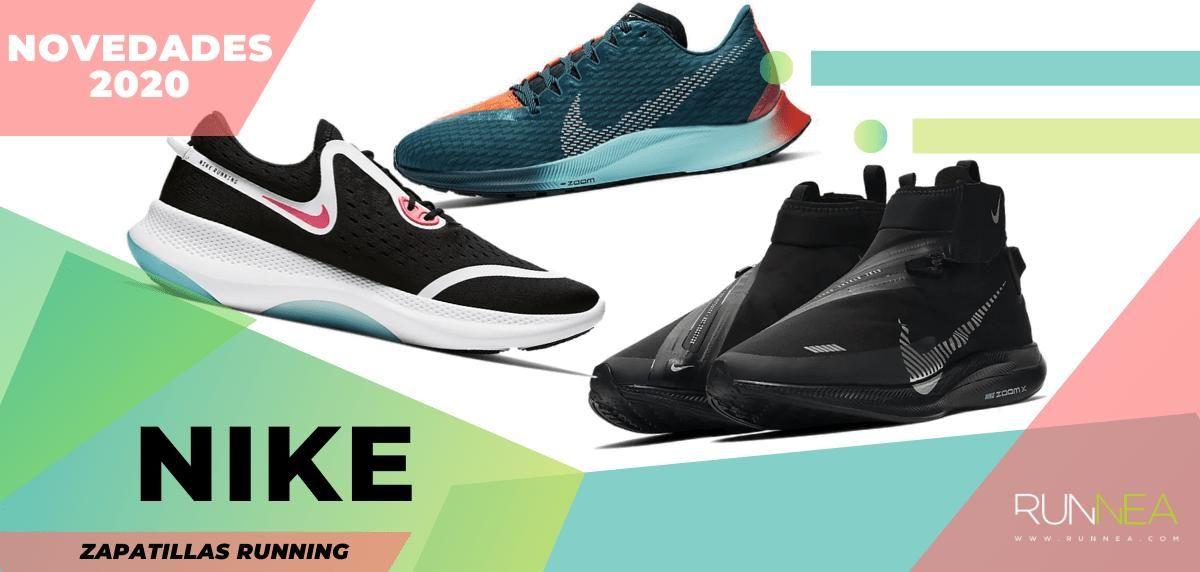 Zapatillas de running Nike, novedades 2020 más destacadas