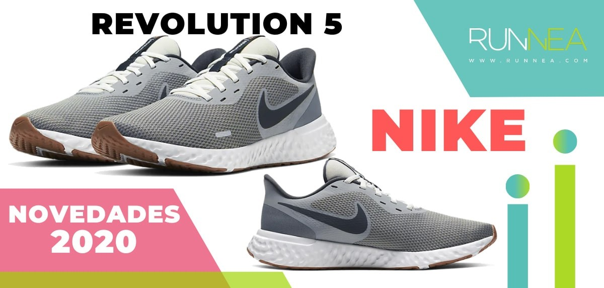 Últimas novedades de zapatillas de running Nike que están ya a la venta - Nike Revolution 5