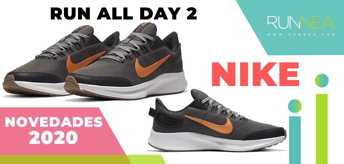 Novedades 2020 en zapatillas de running Nike que están por venir - Nike Run All Day 2