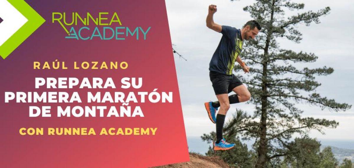 Raúl Lozano prepara su primera maratón de montaña con Runnea Academy