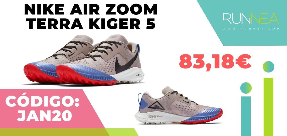 Rebajas Nike: las 12 mejores ofertas en zapatillas running, Nike Air Zoom Terra Kiger 5