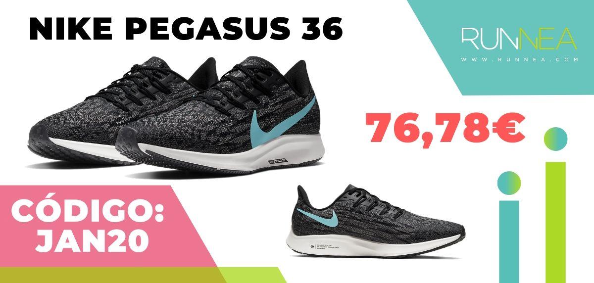 Rebajas Nike: las 12 mejores ofertas en zapatillas running ¡aplicando este código descuento! Nike Pegasus 36
