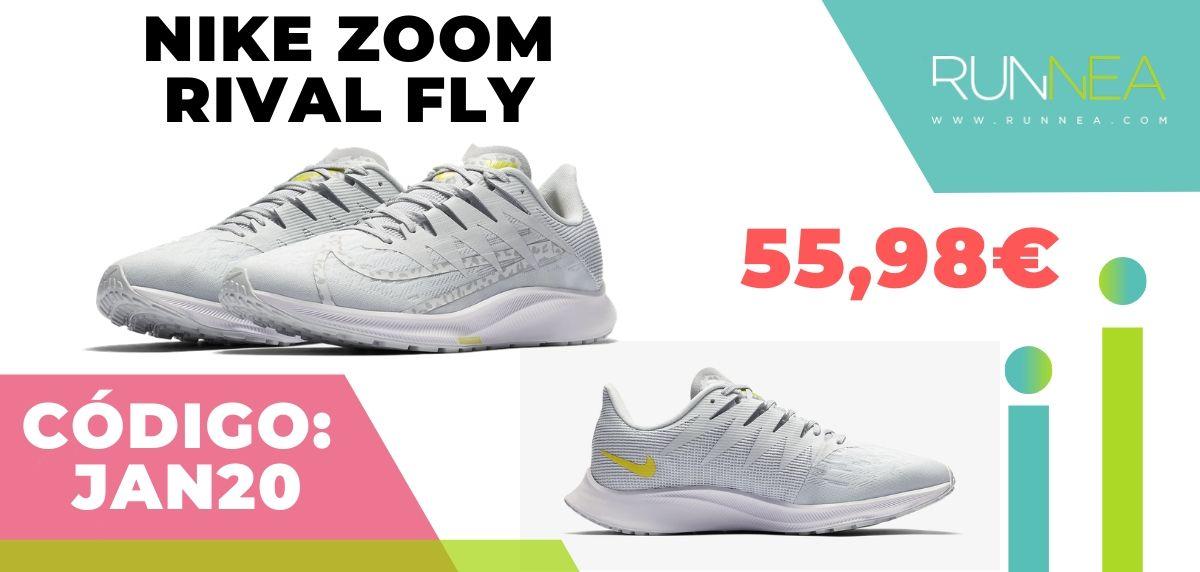 Rebajas Nike: las 12 mejores ofertas en zapatillas running, Nike Rival Fly