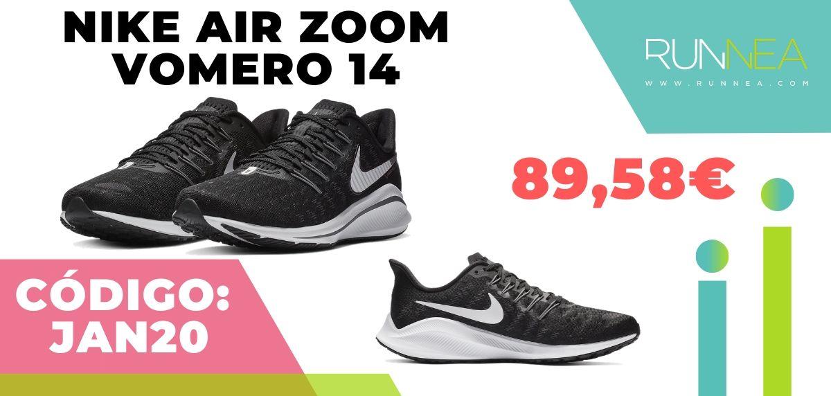 Rebajas Nike: las 12 mejores ofertas en zapatillas running, Nike Air Zoom Vomero 14