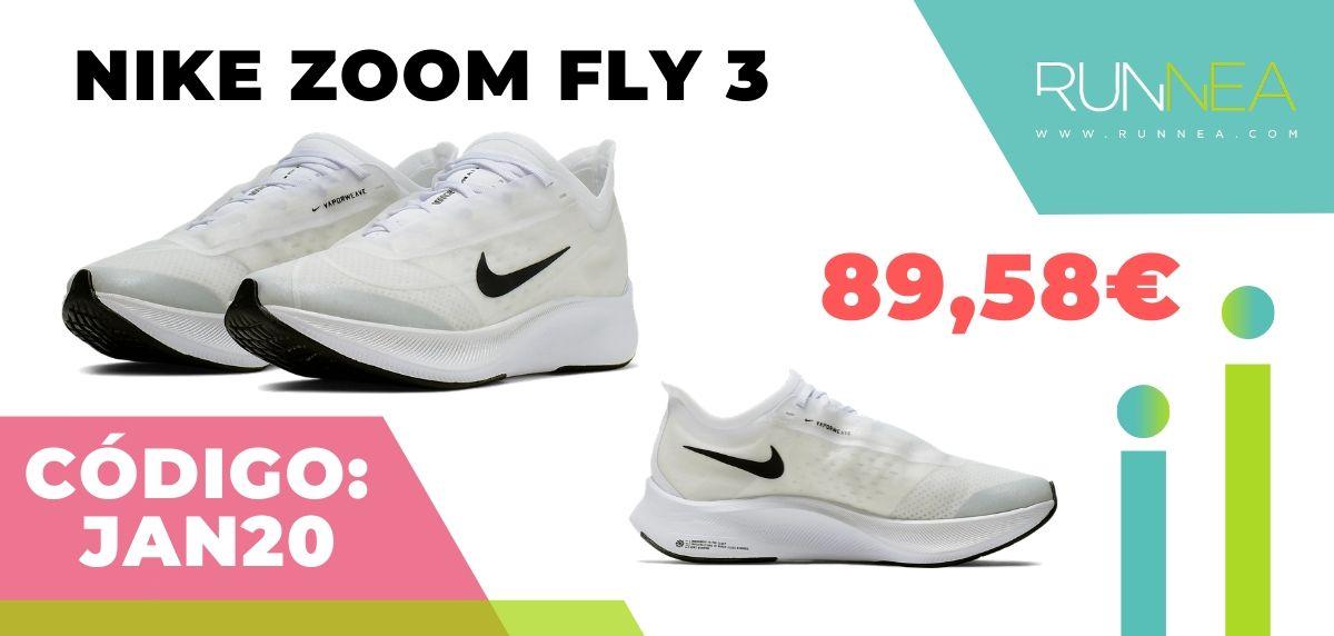 Rebajas Nike: las 12 mejores ofertas en zapatillas running, Nike Zoom Fly 3