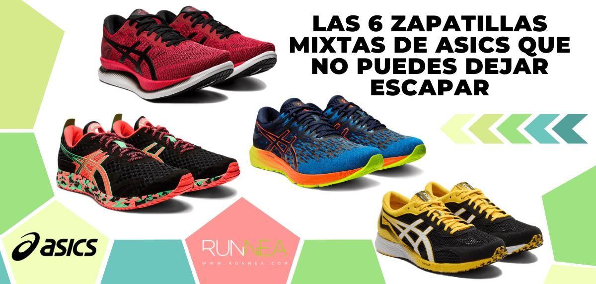 Las 6 zapatillas de running mixtas de Asics que no puedes dejar escapar