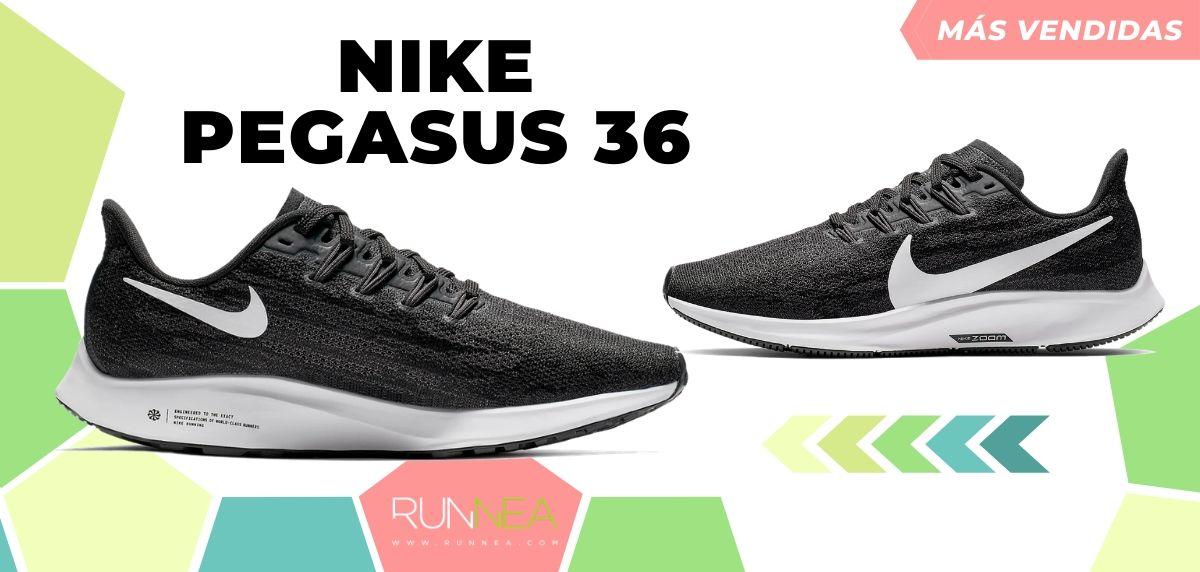 10 zapatillas de running de Nike más vendidas del mes de