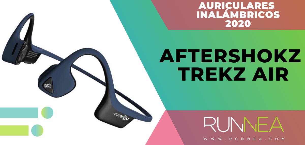 Mejores auriculares inalámbricos de este 2020 para salir a correr - Aftershokz Trekz Air