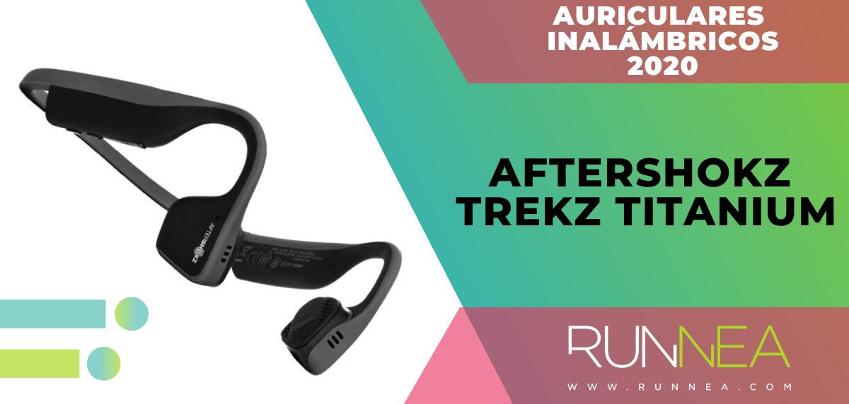 Mejores auriculares inalámbricos de este 2020 para salir a correr - Aftershokz Trekz Titanium